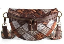 Load image into Gallery viewer, Vintage Bohemian Patchwork Luxury Half Shell Ladies bag *Limited stock*