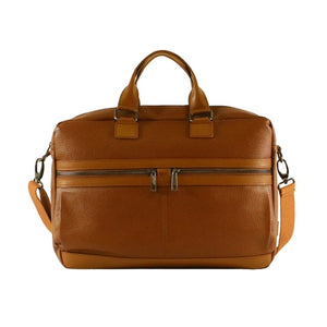 Italian Leather Casual shoulder bag and Laptop bag