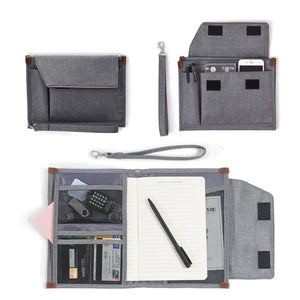 Black Waterproof Mobile Office Pouch and Organiser