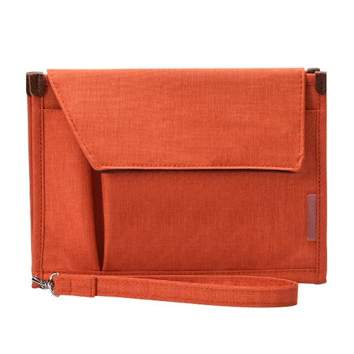 Orange Waterproof Mobile Office Pouch and Organiser