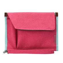 Load image into Gallery viewer, Pink Waterproof Mobile Office Pouch and Organiser