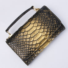 Load image into Gallery viewer, Crocodile-look or Python Snake-look small handBag