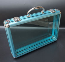 Load image into Gallery viewer, Funky See Through PVC and Aluminum Alloy Business Briefcase