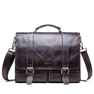 Genuine Leather Laptop Messenger bags