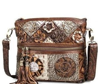 Luxury Vintage Floral Bohemian Ladies bag with Tassels  - crossbody bag
