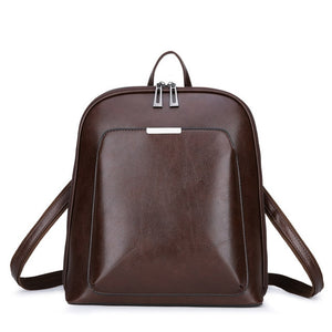 Ladies Elegant Backpack or Female Travel Bagpack - casual elegance