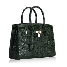 Load image into Gallery viewer, Ladies Crocodile-look luxury handbags