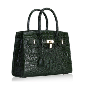 Ladies Crocodile-look luxury handbags