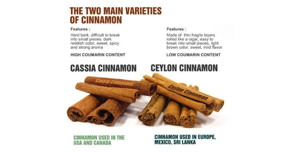 Cinnamon Sticks Ceylon Certified Organic 16 OZ  From  True Cinnamon