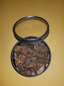 Myrrh Gum Resin Tears Super High Quality Egyptian 2 Full  OZ  For Incense Burning In Clear Window Tin