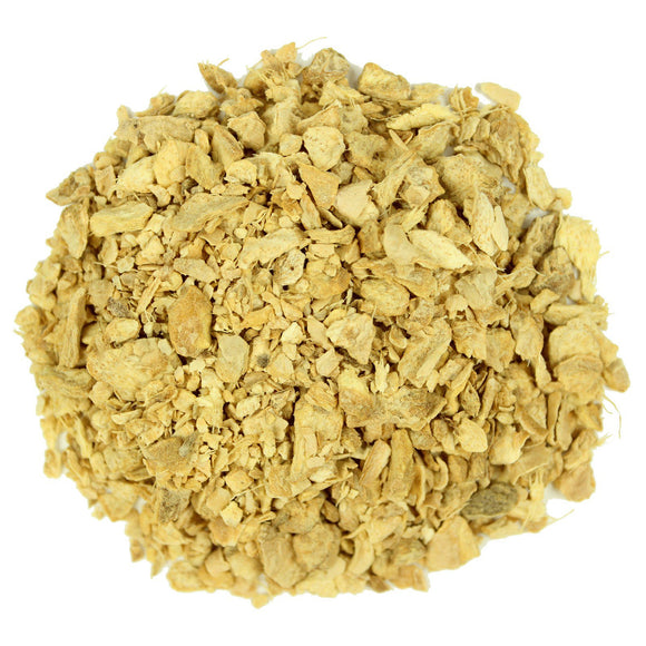 Ginger Root Cut 1 Pound Dried Zingiber officinale