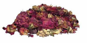 Rosebuds and Petals Red 2 OZ Dried