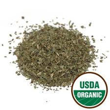 Basil Leaf Cut Certified Organic 16 OZ (1 Pound)