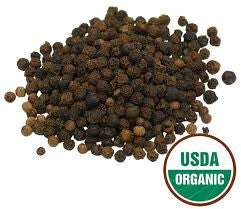 Pepper Black Whole 16 Oz (1 Pound) Certified Organic