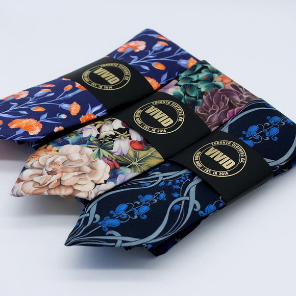Liberty London, Silk and Cotton neck ties by VIVID Clothing Toronto