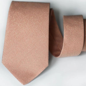 glitter rose gold tie rose gold wedding neck ties cotton