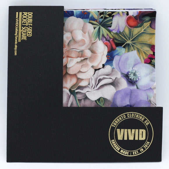 Floral Pocket Square in Multi - Liberty of London