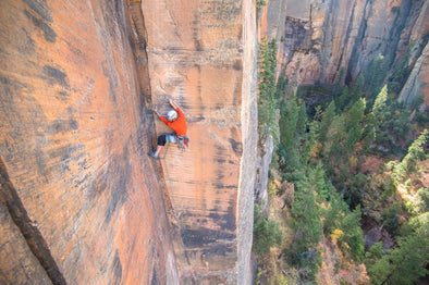 New-wave Sedona Multi-pitch Climbing - By Mad Rock Athlete Joel Unema