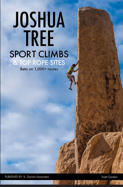 Guidebook - Joshua Tree Sport Climbs and Top Rope Sites