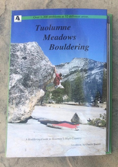 Guidebook - Tuolumne Meadows Bouldering