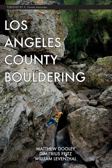 Guidebook - Los Angeles County Bouldering