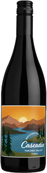 Cascadia Syrah, 2018, Yakima Valley, Washington State