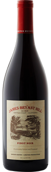 Pinot Noir, 2018, James Bryant Hill Estate