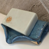 Ceramic Self-Draining Soap Dish