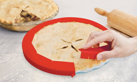 Silicone Pie Crust Shield