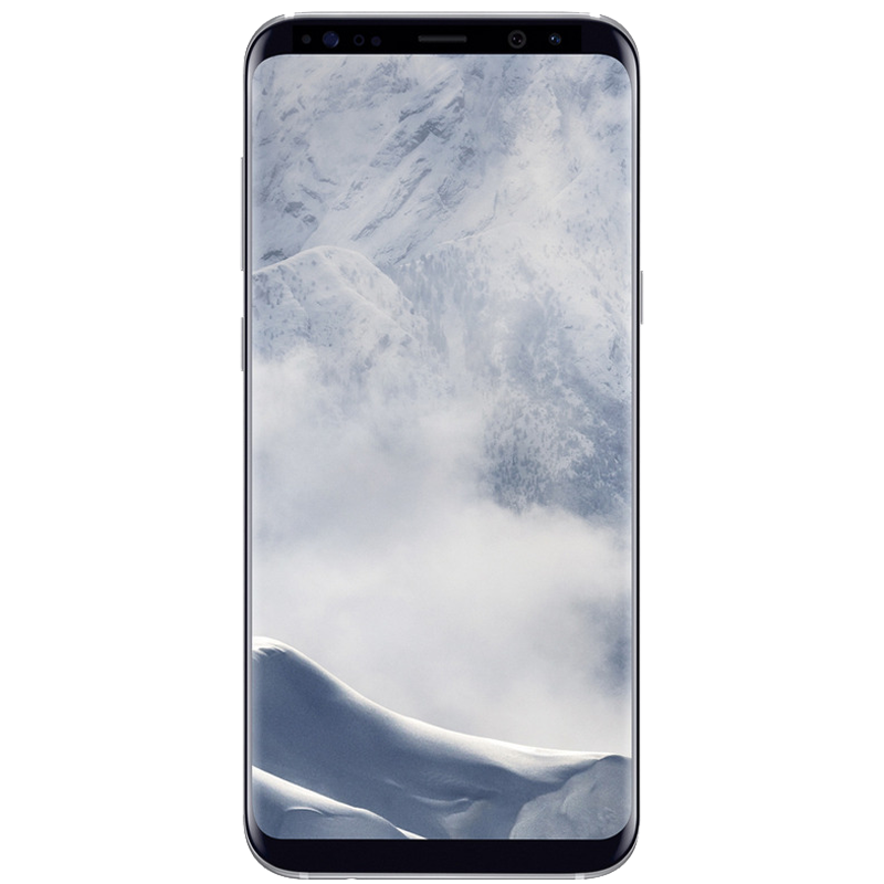 S8 Plus con 64 GB color  Plata |  Reacondicionado - Buen Estado