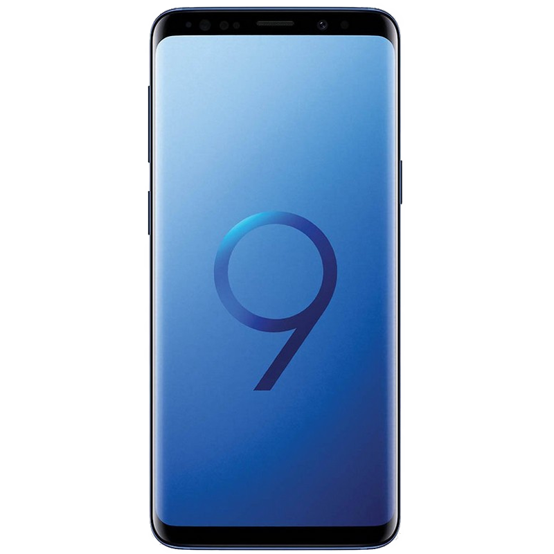 S9 Plus con 64 GB color  Azul |  Reacondicionado - Muy Buen Estado