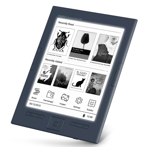 eReader Screenlight HD 8 GB