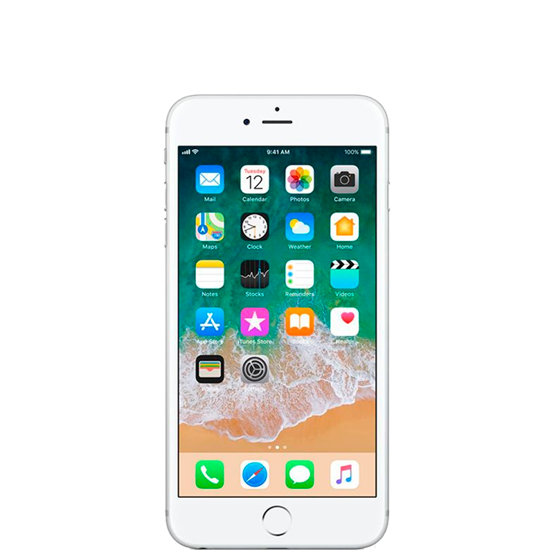 iPhone 6S con 128 GB color  Plata |  Reacondicionado - Casi Perfecto