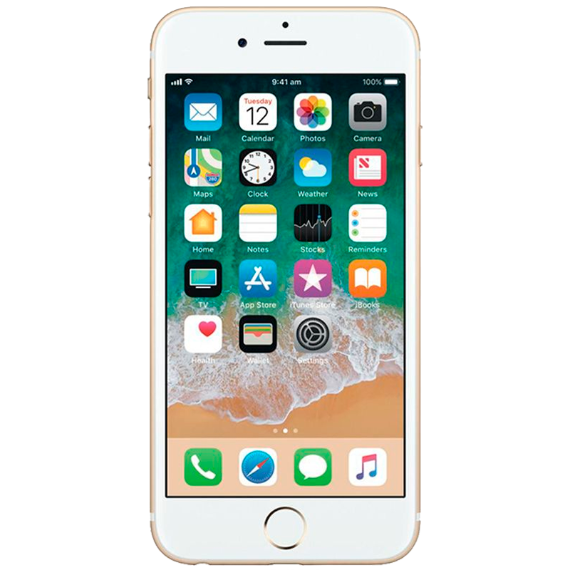 iPhone con 16 GB color  Oro |  Reacondicionado - Aspecto Presentable