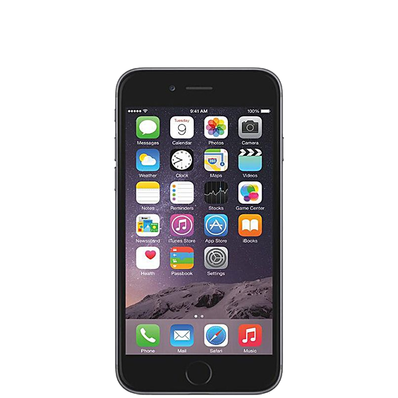 iPhone 6 con 64 GB color  Gris Espacial |  Reacondicionado - Muy Buen Estado