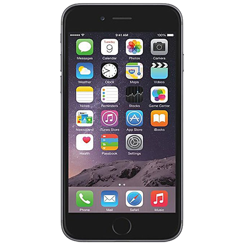 iPhone con 128 GB color  Gris Espacial |  Reacondicionado - Buen Estado