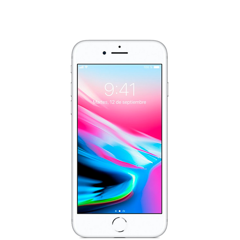 iPhone 8 con 64 GB color  Plata |  Reacondicionado - Casi Perfecto
