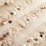 Moroccan Style Wedding Blanket Throw Pillow