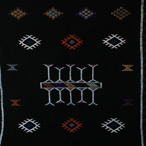 """MIDNIGHT"" MOROCCAN RUG"