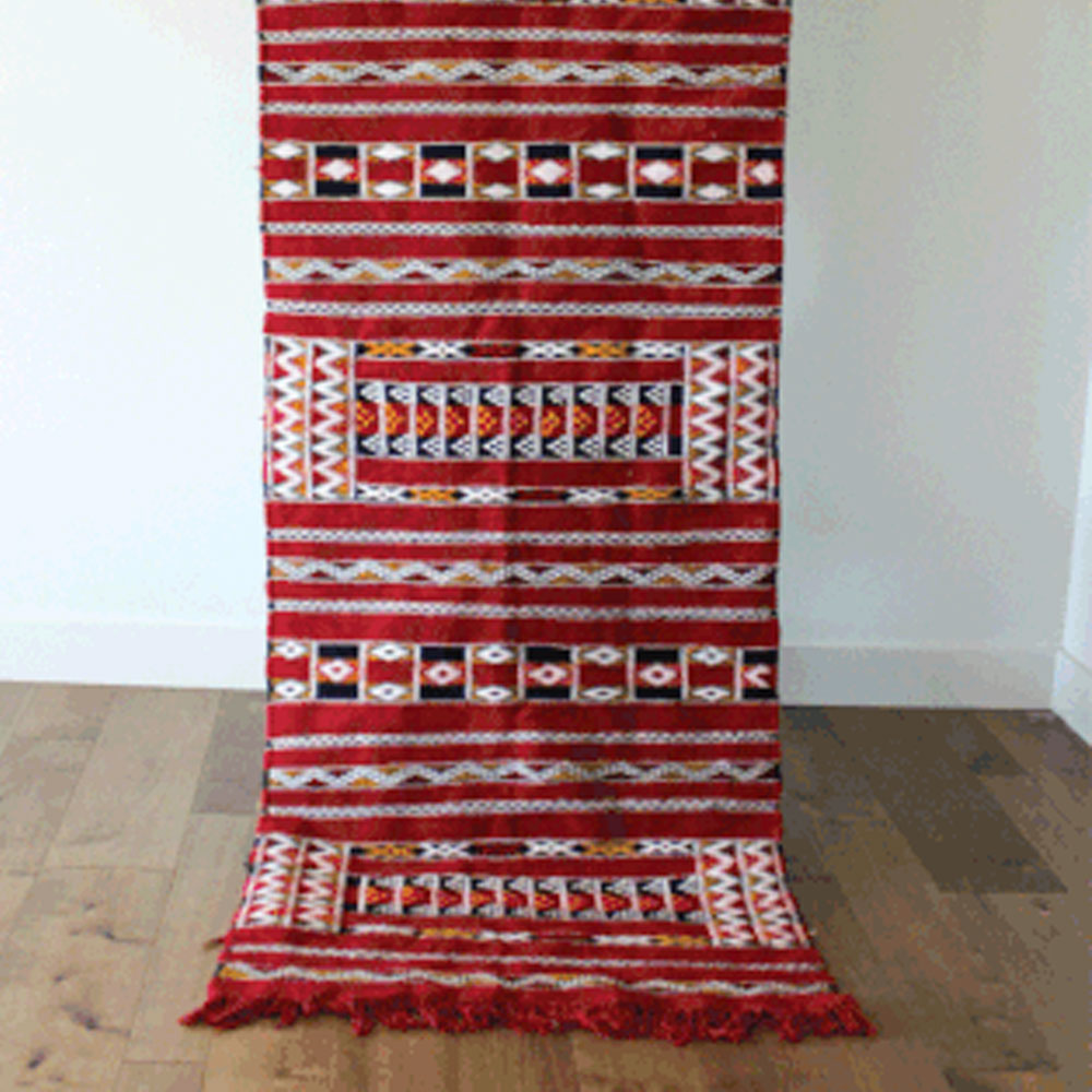 TRIBAL ROJO RUG