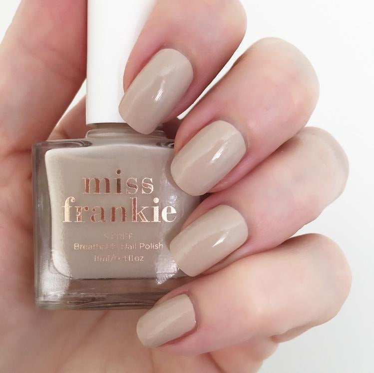 MISS FRANKIE I LOOK BETTER NUDE NAIL POLISH