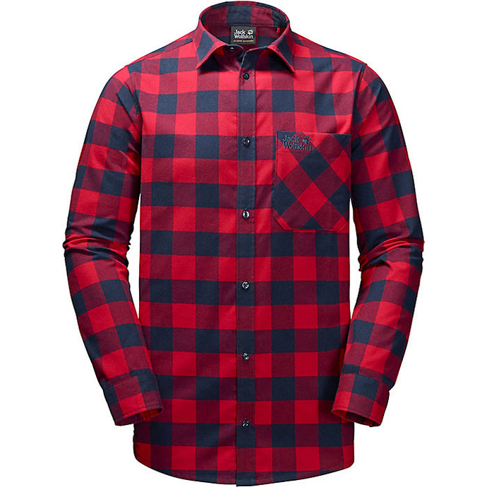 JACK WOLFSKIN H-RED RIVER SHIRT