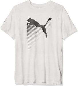 PUMA-H-T-SHIRT THE CAT HEATHER