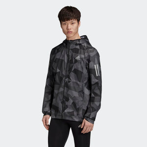 ADIDAS H OWN THE RUN JKT CAMO