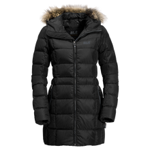 Load image into Gallery viewer, JACK WOLFSKIN F-BAFFIN ISLAND COAT BLACK