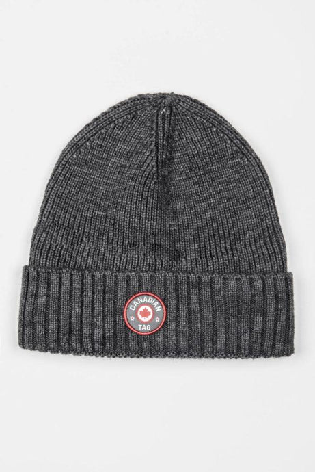 CANADIAN TAG TUQUE- MALBAIE CHARCOAL