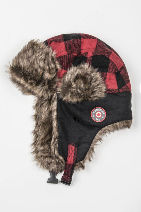CANADIAN TAG CHAPEAU RED DEER