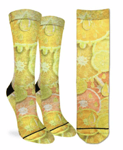 Load image into Gallery viewer, GOOD LUCK SOCK-F-SOCKS LEMONS AND ORANGES