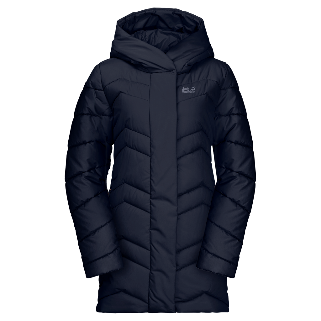 JACK WOLFSKIN F Kyoto Coat Midnight Blue
