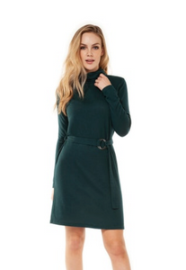 DEX 1422055 TURTLE NECK DRESS